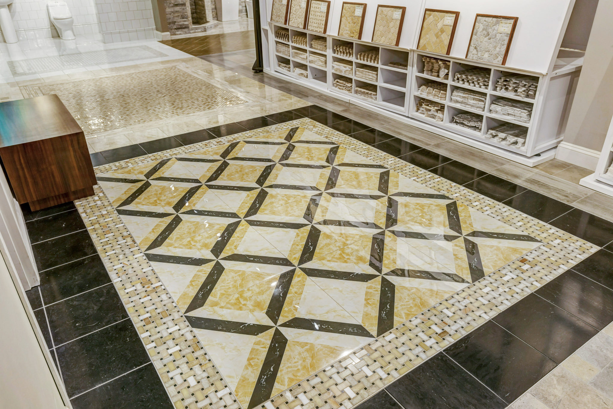 a beautiful floor  Tile Showroom Eureka 63025: Choose Beautiful Tiles For Any Floor