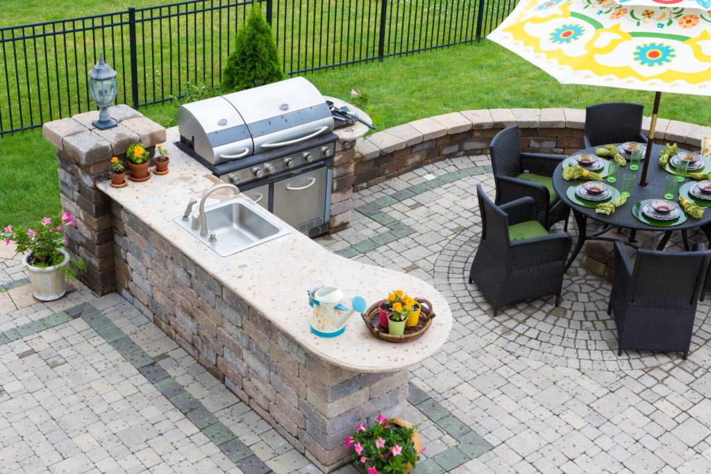 outdoor tile ideas